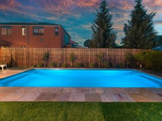 Poolscene Gympie Fibreglass Pools Contemporary Swimming Pool Featured