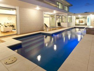 Poolscene Gympie Fibreglass Pools Fastlane Swimming Pool Featured